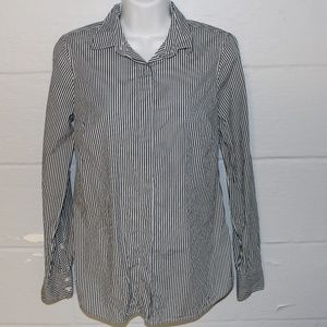 J.Crew Favorite Shirt in Stripe Size 0 Button